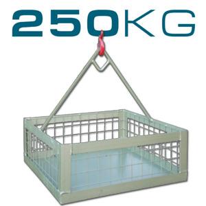 250KG BRICK LIFTING & HANDLING BASKET IMER SCAFFOLD HOIST | OFFICIAL UK DEALER