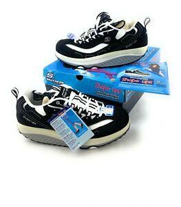 NOS Skechers Shape-Ups Strength 11809/BKW Toning Walking Shoes Sz 11 DVD