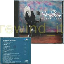 """PATTY PRAVO """"PAZZA IDEA"""" RARO CD 1990"""