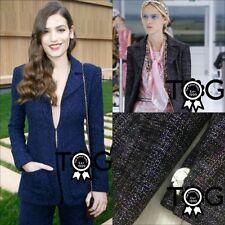 Cotton Blend Classic Neckline Blazers for Women