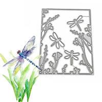 Dragonfly Metal Cutting Dies Stencil DIY Scrapbooking Album Paper Card.Embossing