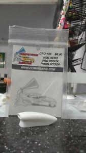 Comp Resin Mini Aero Pro Hood Scoop Part number 135