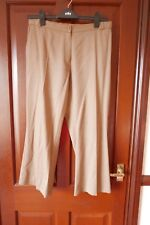 Marks & Spencer Ladies Trousers, Camel, Petite Size 16 Medium, great condition