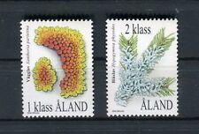 Aland  1999 Serie ordinaria Licheni  Mnh