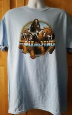 "WOLFMOTHER T-Shirt  ""Woman on Tiger""  Official/Licensed  S, M, L, XL, 2XL  NEW"