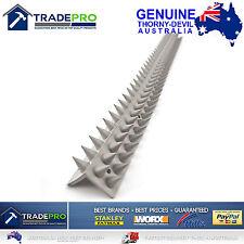 Thorny Devil® Spikes L Shape Grey PVC 45cm Bird Possum Fence Climbing Deterrent