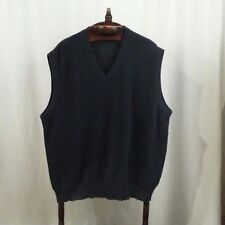 Greg Norman mens vest Size L Gray Pullover Knit