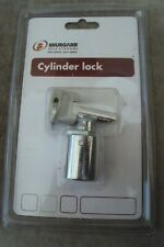 1 shurgard cylinder lock in its original packet with 3 keys.