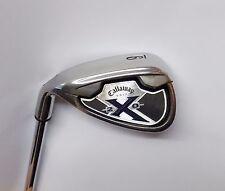 Left Handed Callaway X20 9 Iron Uniflex Steel Shaft Callaway Grip