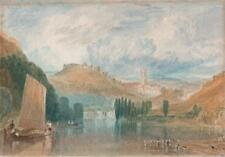TOTNES AFTER J M W TURNER Watercolour Painting c1830 THOMAS SMITH CAFE 1793-1840