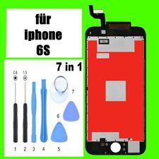 Display LCD per iPhone 6s CON RETINA VETRO SCHERMO FRONTALE NERO NUOVO
