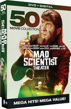 Mad Scientist Theatre: 50 Movie Megapack - 10 DISC SET (2016, DVD New)