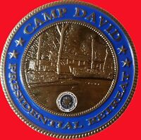 """CAMP DAVID PRESIDENTIAL RETREAT SPECIAL MISSIONS COMMAND CHALLENGE COIN 2"""" t  38"""