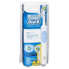 Oral-B Vitality PLUS PRO White Rechargeable ToothBrush + 2 ProWhite Brush Heads
