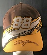 Nascar Dale Jarret 88 Racing Cap Hat Chase Authentics Brown & Gold Embroidery