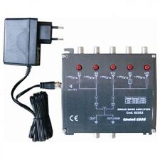 Centralino Emme Esse 82359L  3 ingressi VHF-UHF-UHF 123dB versione LTE