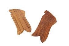 P08 Luger Griffschalen-Paar aus Holz