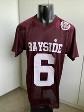 AC Slater football jersey Saved by the Bell 90s Bayside Tigers maroon Halloween