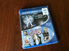 Saturday Night Fever/Grease (Blu-ray Disc, 2013, 2-Disc Set) BRAND NEW, SEALED