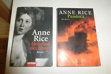 2 x Fantasy von Anne RICE : Pandora + Hohelied des Blutes /2002 + 2008