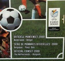 Euro 2000 Belgique Set Pays Bas  Muntenset Coinset  Nederlands Belgïe