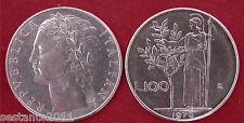 C33  ITALY ITALIA REPUBBLICA ITALIANA 100 LIRE MINERVA I 1976  KM 96.1 FDC UNC