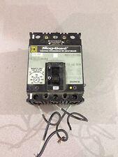 Used Square D 15 Amp Circuit Breaker Fal3601513M1212 Series 2 (D6)