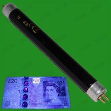 2x T5 6W UV Blacklight 212mm Tube Bulb Detects Counterfeit Money Security Marker