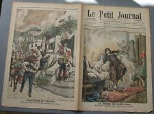Le petit journal 1906 805 Saint Ouen vengeance domestique Éruption Vésuve Italie