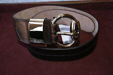 100%authentic Gucci Olive Buckle Belt new 32 / 80