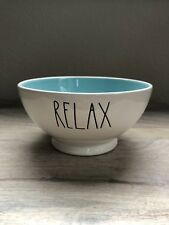 BRAND NEW Rae Dunn RELAX Colored Bowl
