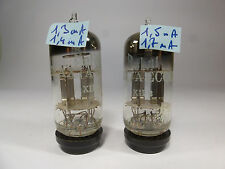 two 12AX7A Mazda silver plate ECC83 finger spring tested on U61C analyser