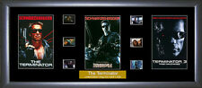 Terminator Trilogy Film Cell - First 3 Films  : Numbered Limited Edition