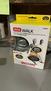 NEW! Mio Walk ECG Accurate Strapless Heart Rate Watch / Calorie Burn & Pedometer