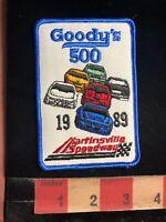 Vintage GOODY'S 500 Martinsville Speedway Car Race Patch - Virginia 98U4