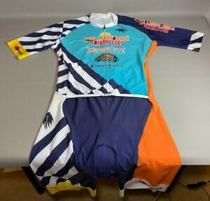 Veneto Italian Cycling Suit Jersey Padded Florida Triathlon   CLEAN   Size XL
