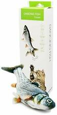 New listing AmazinglyCat Dancing Fish Toy for Cats & Small Dogs – Motion Sensor Cat Toy.