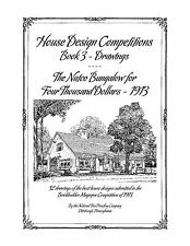 House Design Competitions, Book 3 Drawings - The Natco Bungalow for $4,000 1913