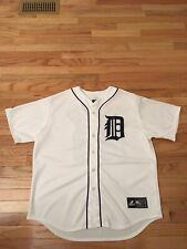 Prince Fielder Detroit Tigers MLB Majestic Jersey Men's Size XL