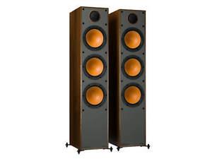 Monitor Audio Monitor 300 Standlautsprecher walnuss Floorstandspeaker (1 Paar)