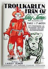 Wizard of Oz (Sweden) FRIDGE MAGNET (2.5 x 3.5 inches) movie poster