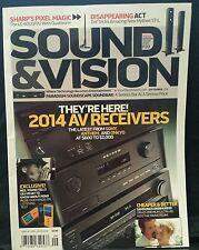 Sound & Vision Latest AV Receivers Sony Anthem September 2014 FREE SHIPPING