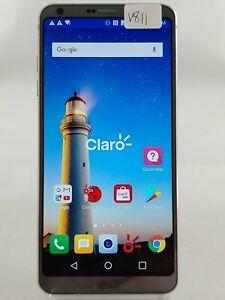 "LG G6 H872PR 32GB AT&T GSM Unlocked 5.7"" Android Smart Cell Phone Black V811"