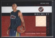 BRIAN COOK 2003 03/04 TOPPS PRISTINE RC ROOKIE RECRUIT GAME JERSEY SP $15