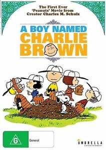 A Boy Named Charlie Brown (DVD, 2015) Fast Safe Shipping &Tracking