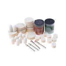36Pcs Polishing Pad Soft Felt Buffing Burr Polishing Wheels Kits Rotary Tools QC