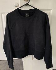Women Nike Crop Sweatshirt Size S