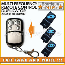 Multi-Frequency Universal Garage Remote Control Duplicator FAAC TM418 TM433