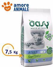 Oasy Cat Adult Sterilized con Pollo 7.5 Kg - Crocchette per gatti sterilizzati