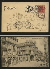 Germany post card  to  US  with postage due markings  1906      Kl0806